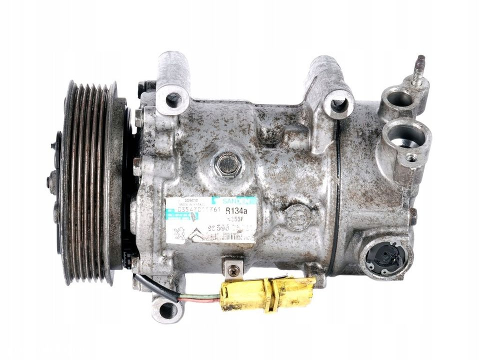 Compresor Aer / Ac 9659875780 Peugeot 308 1.6 hdi An Constructie 2004 - 2018 100 kw 136 cp - 2