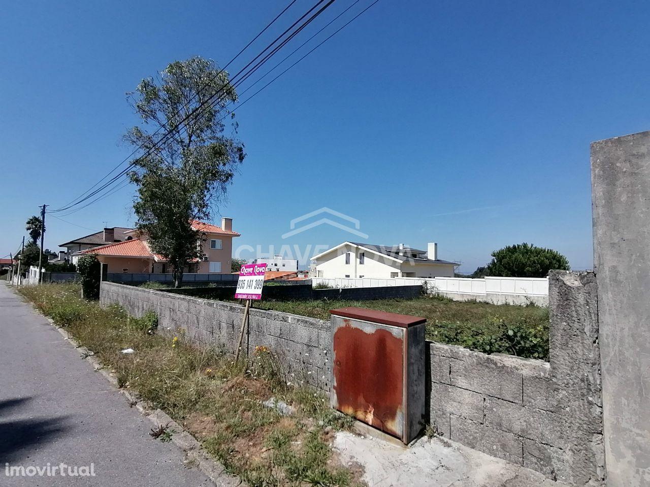 Terreno com 540m2 nas Airas - São João de Ver - Santa Maria da Feira