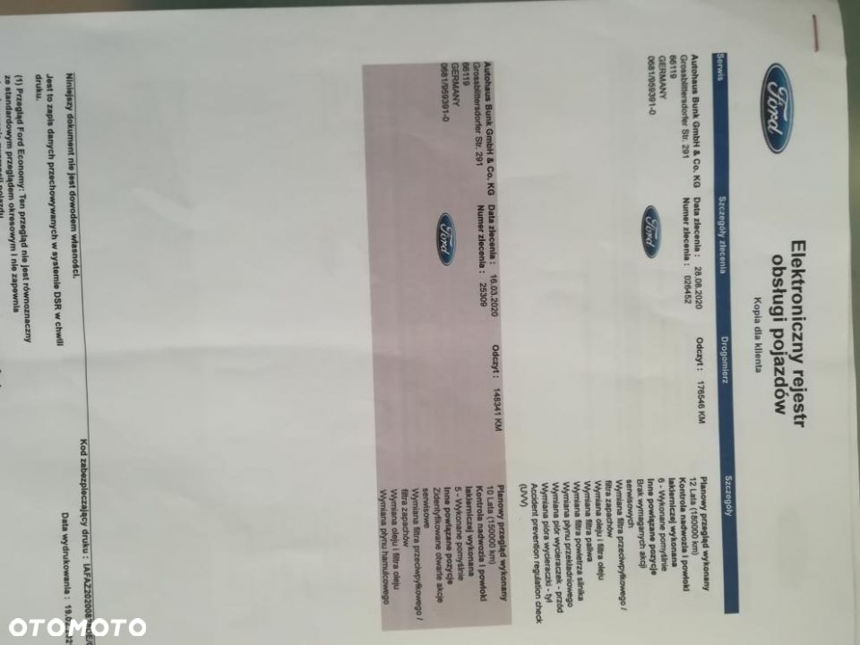 Ford S-Max 2018 Rok 180 KM AUTOMAT - 23