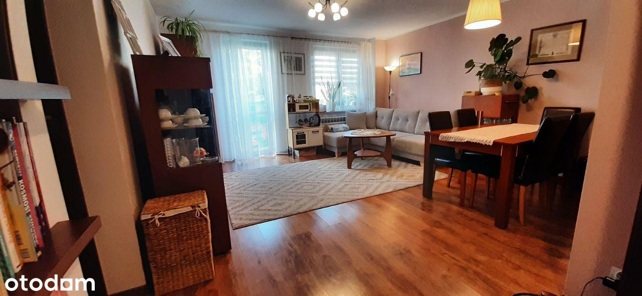 Mieszkanie 57 m2, parter, dobrze wyposażone, ładne