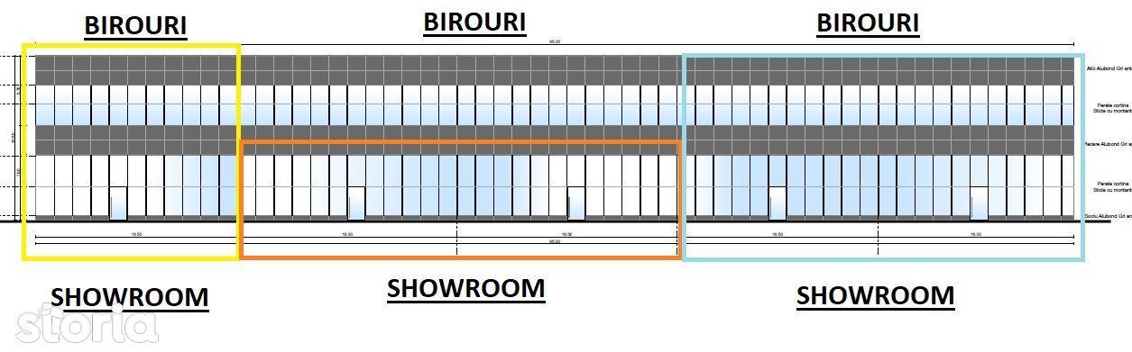 Spatiu Showroom- Office in zona Calea Bucuresti # CERACTERRA