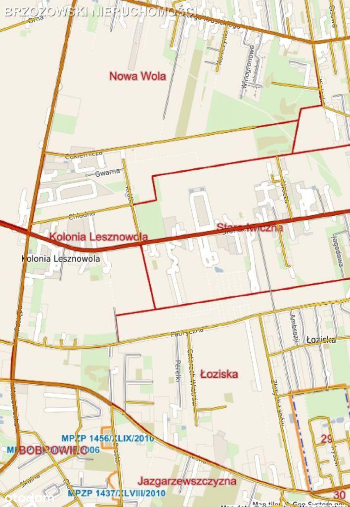 Stara Iwiczna, 1,6 ha, Mpzp, usługowo-mieszkaniowa