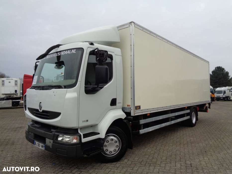 Renault Midlum 190 DXI + Manual + LIFT + euro 4 - 1