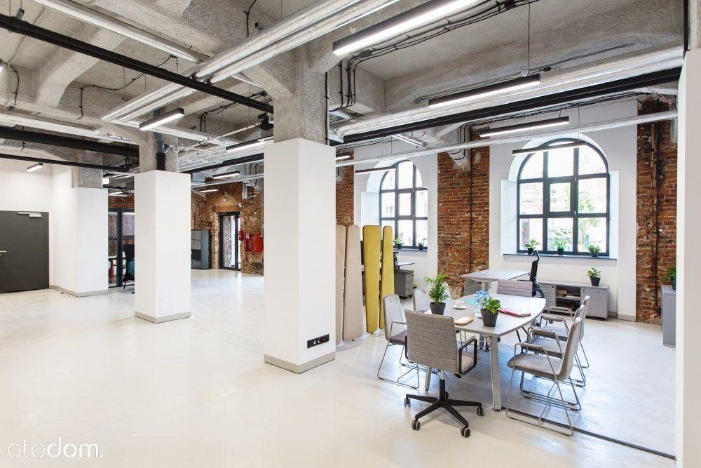 Biuro w industrialnym stylu w samym centrum
