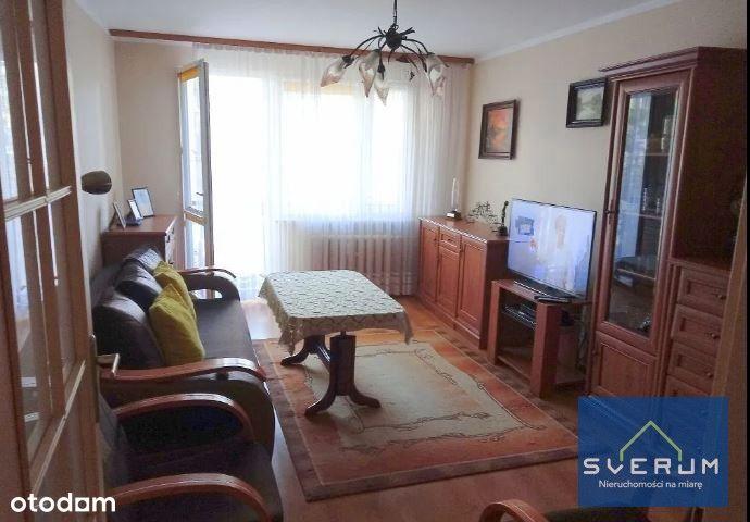 3 pokoje na Wrzosowiaku w niskim bloku