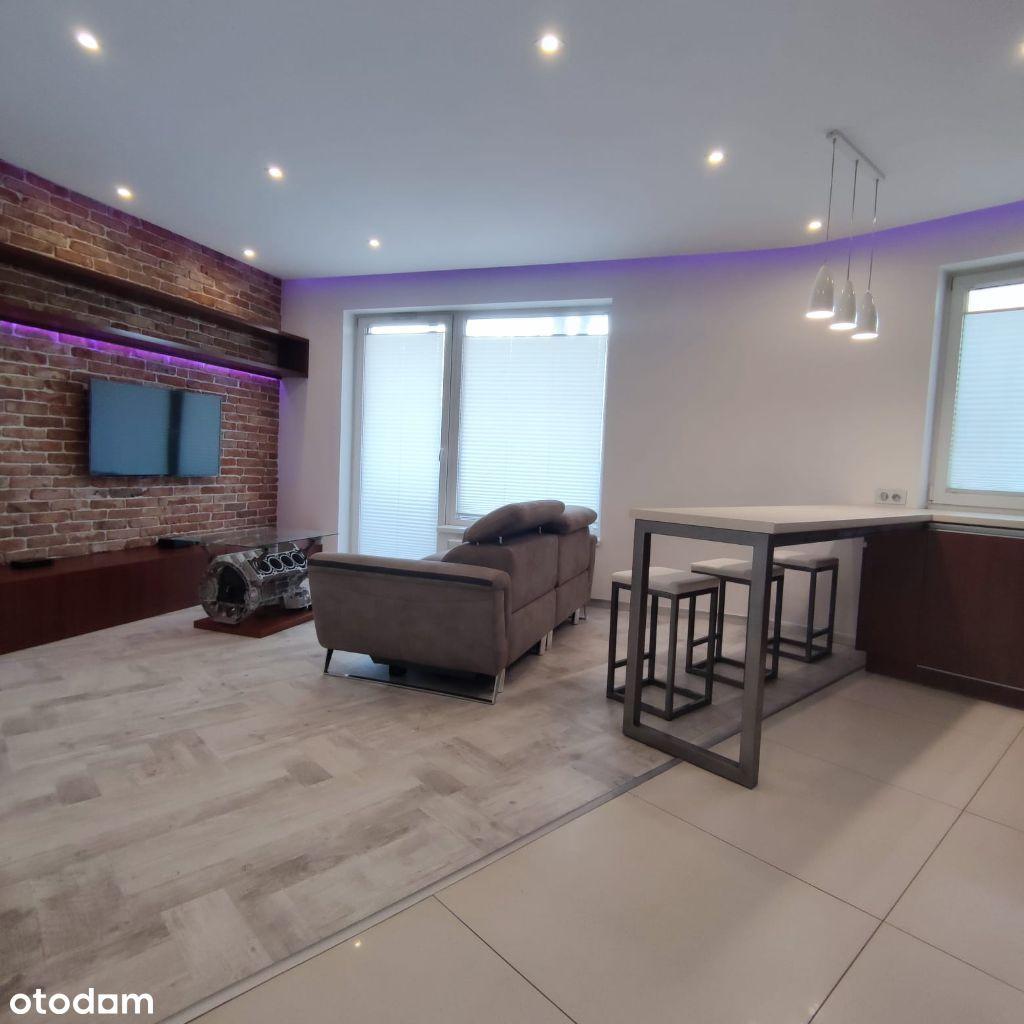 Apartament 45m2, Śródmieście, ul Rewolucji, Etiuda