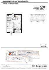 Mieszkanie deweloperskie o pow. 36,29 m2 w Dębicy