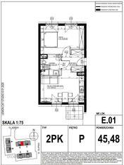Mieszkanie w inwestycji LakeCity (E.01)