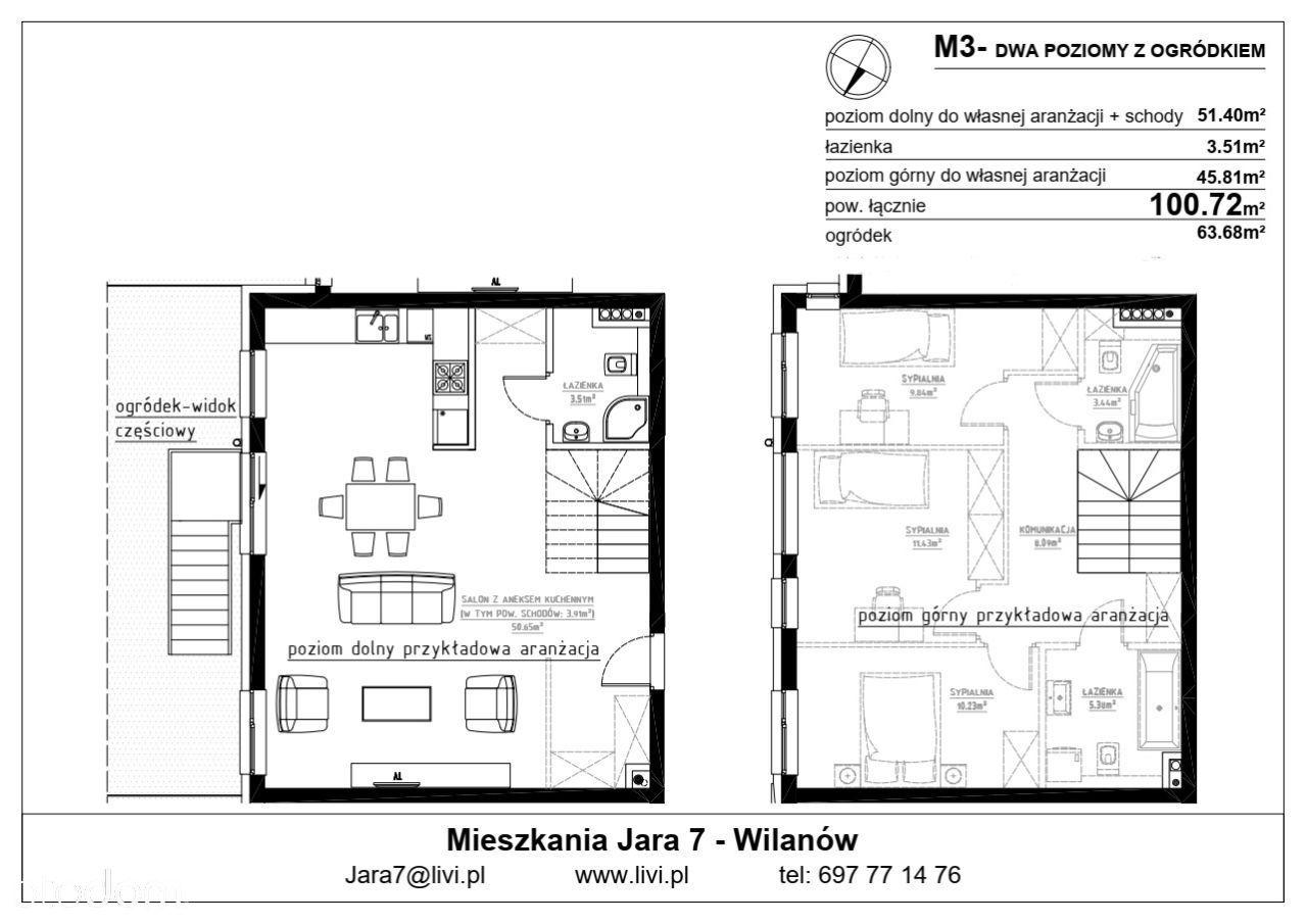 Mieszkanie M-03 z ogródkiem