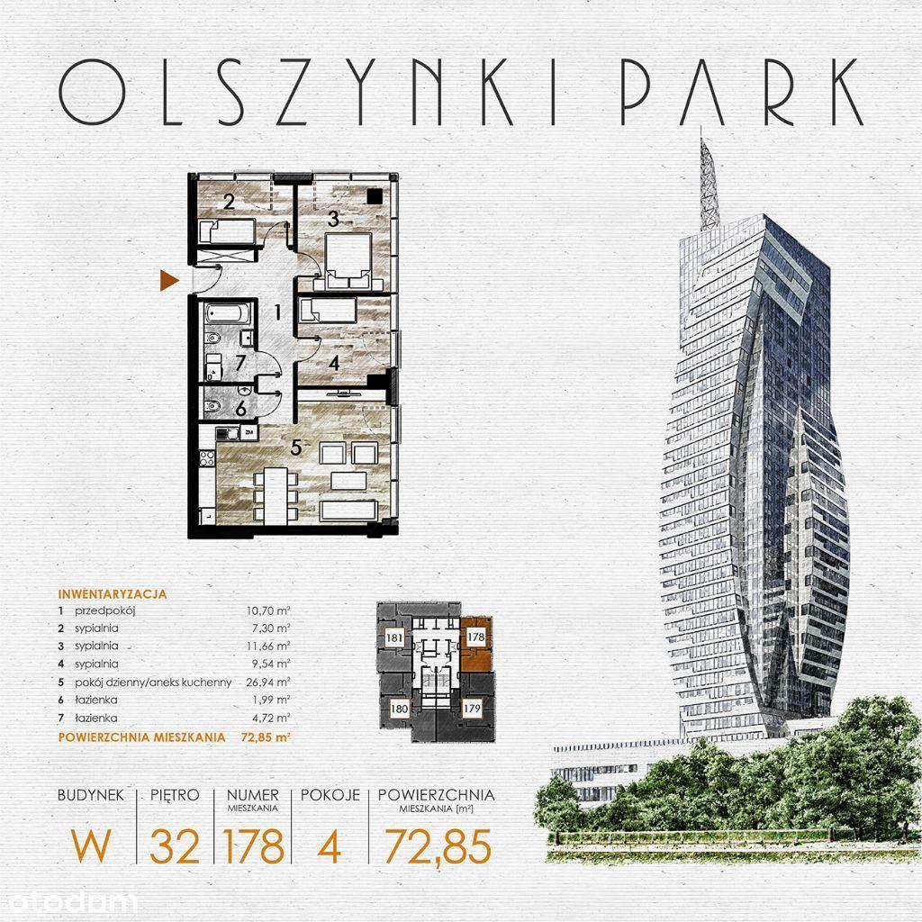 Olszynki Park - Apartament W178