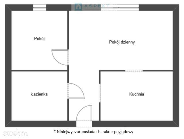 Śródmieście, 2-pokoje, niski blok