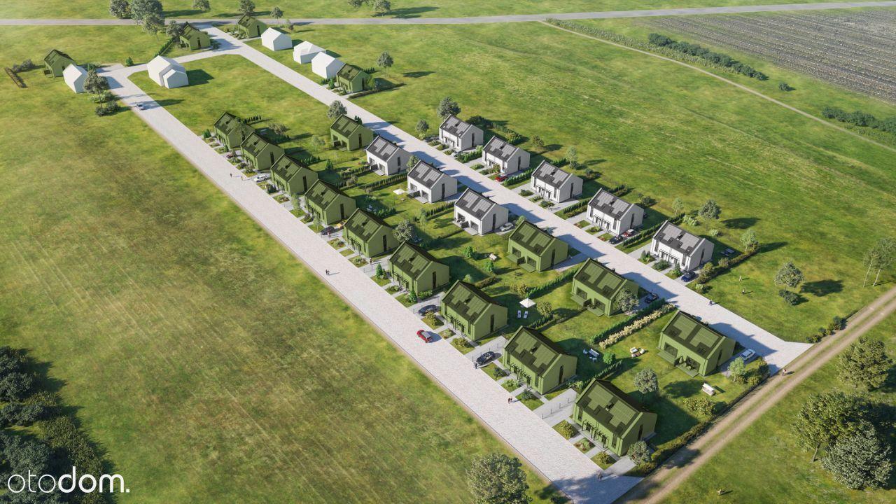 Komfortowe domy z dużym ogrodem Nowe Wróblewo