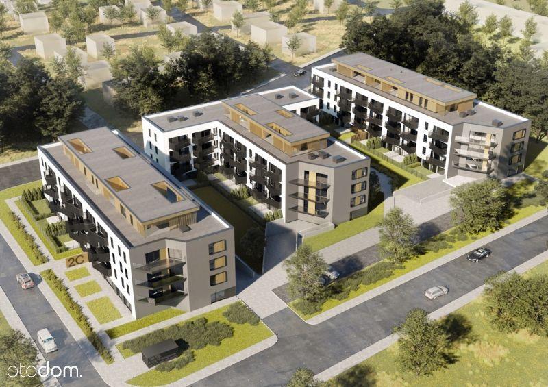 Mieszkanie 55,27m2 + ogródek + 2 miejsca garażowe!