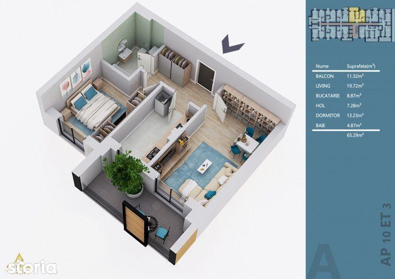 ASTORIUM MY HOME - CONSTRUCTIE NOUA - APARTAMENTE LA CHEIE