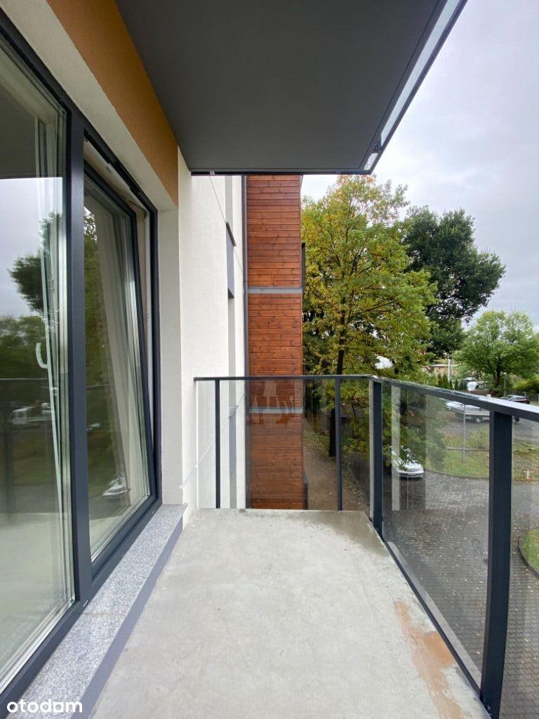Nowe słoneczne mieszkanie z narożnym balkonem