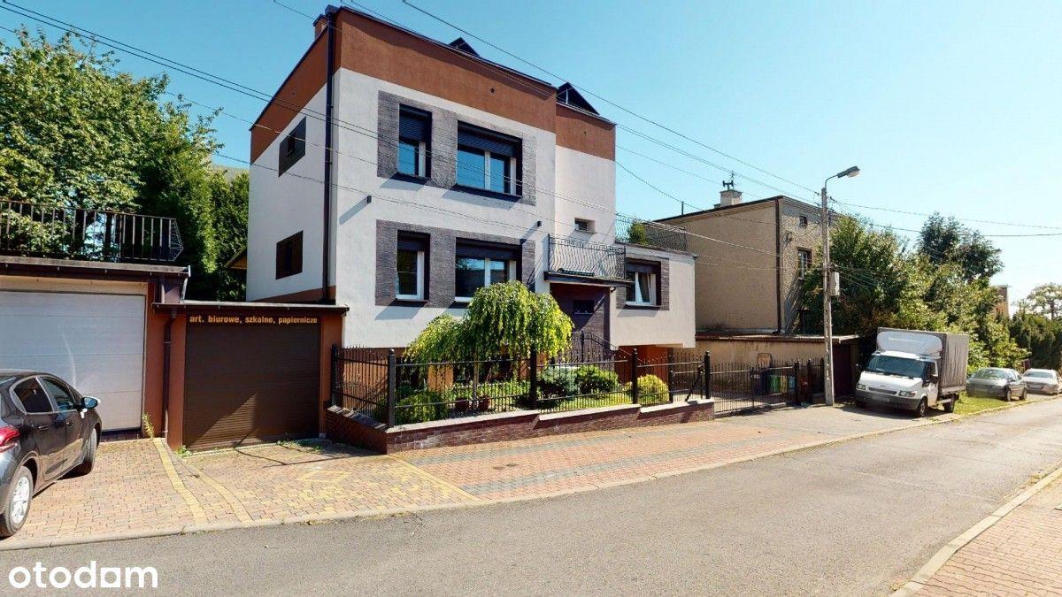Dwurodzinny dom +pomieszczenia pod działalność
