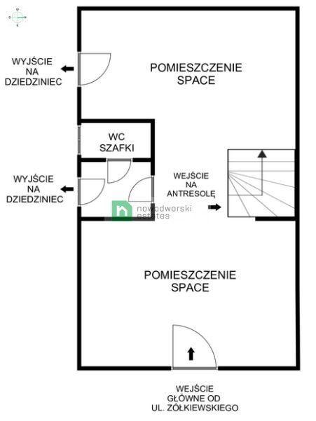 Na sprzedaż lokal użytkowy 86,8 m2 Żółkiewskiego