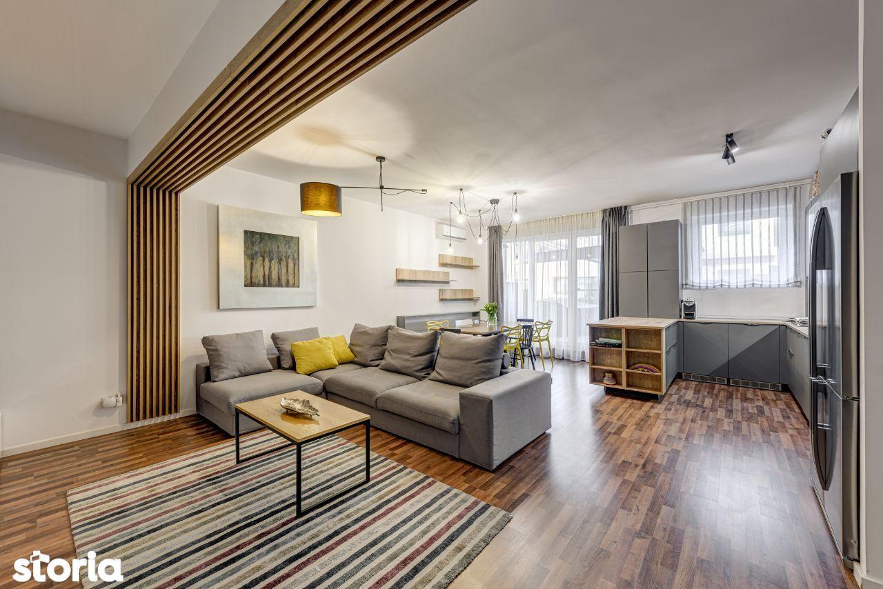 Apartament 4 camere splendid cu gradina de 130mp,Laguna Residence