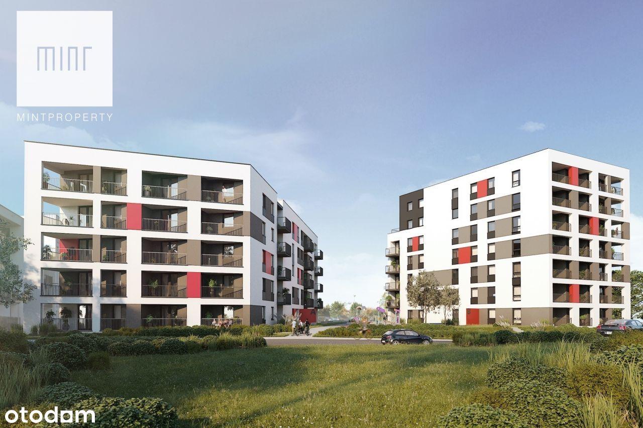 Nowe dwupokojowe mieszkanie - Baranówka