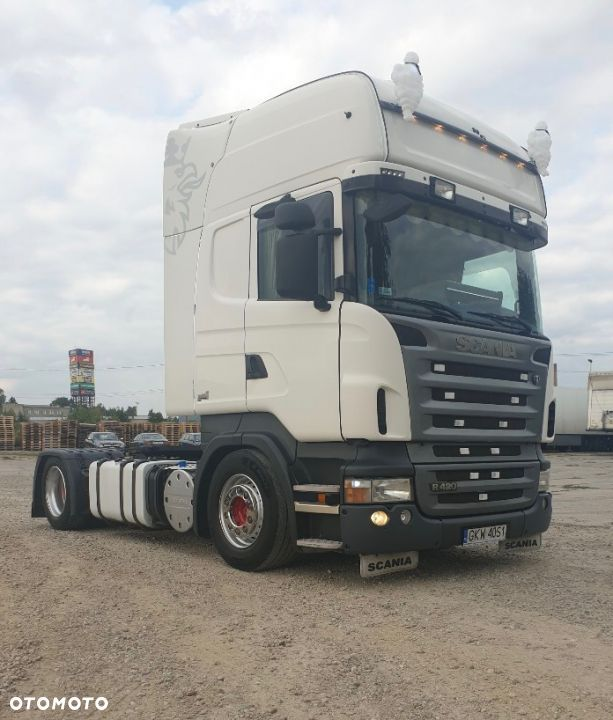 Scania R420 Topline Manual 2008 AdBlue Euro 5 Low Deck Mega - 1