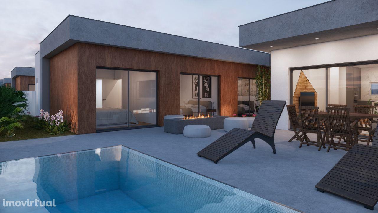 Moradia Nova T4 com piscina - Azeitão