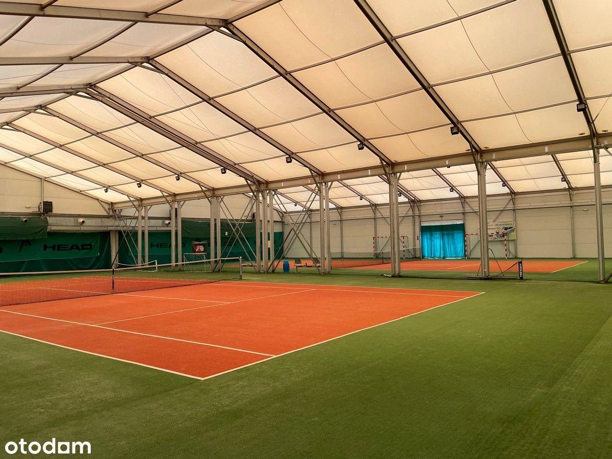 Korty tenis/squash zamknięte i odkryte