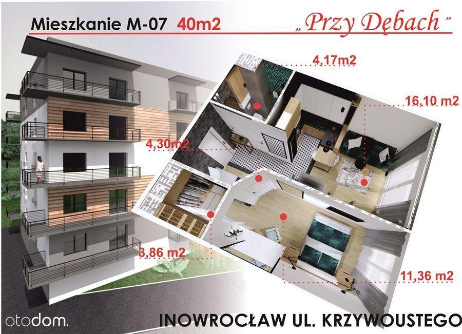 Mieszkanie 43,52 m2 w nowym budownictwie