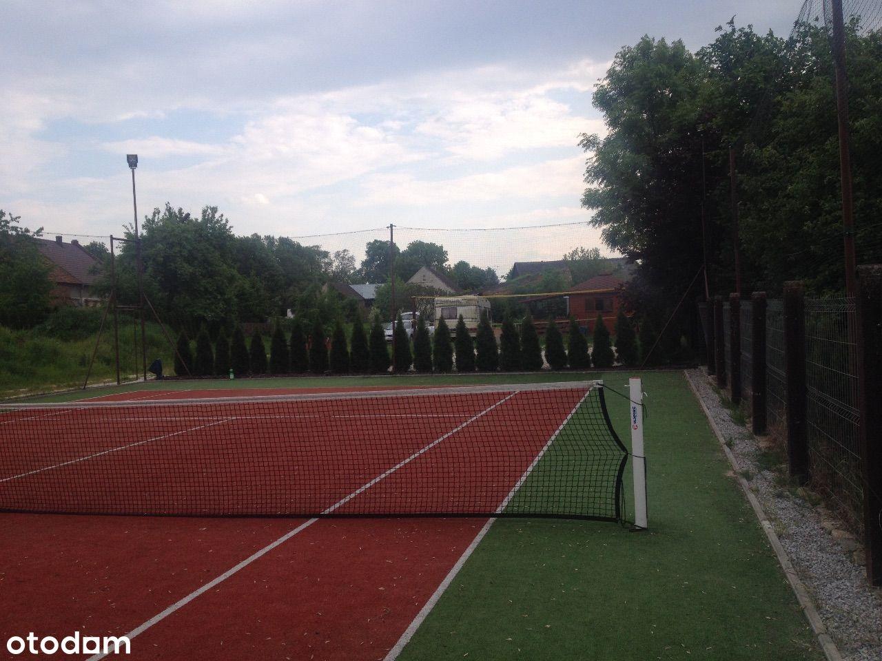 Super działka *kort tenisowy*spokojna okolica