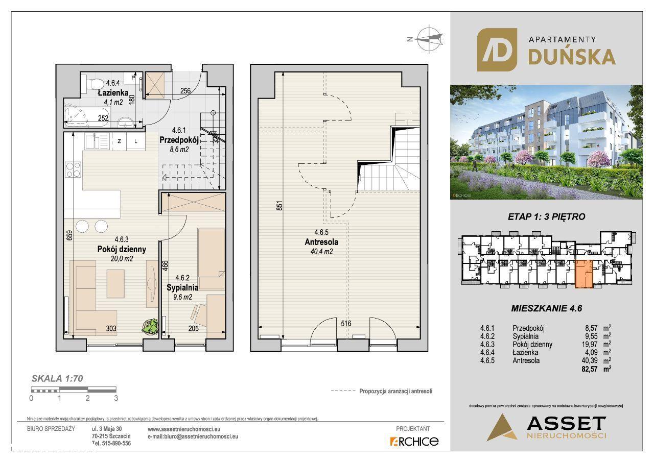 Apartamenty Duńska Gotowe Mieszkanie