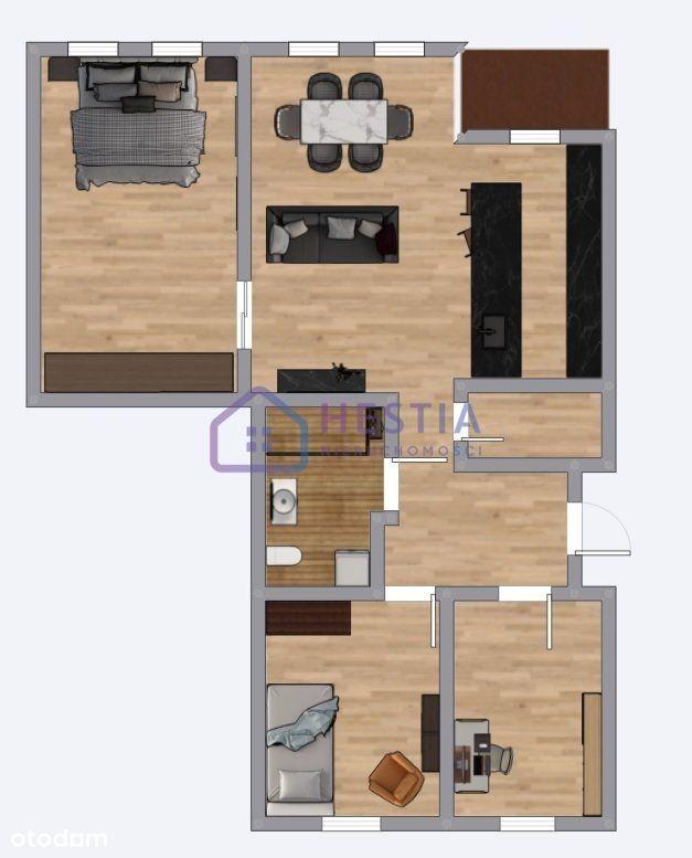 Mieszkanie z potencjałem w atrakcyjnej cenie!
