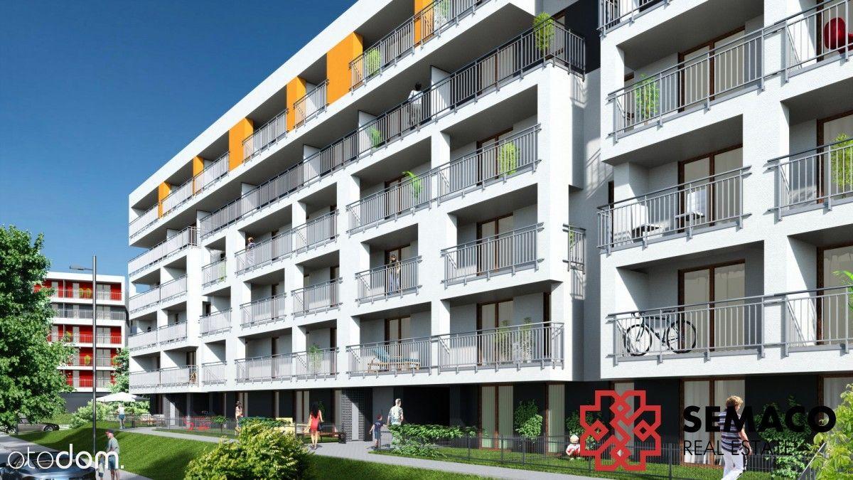 Mieszkanie 2-pokojowe z dużym balkonem, Czyżyny