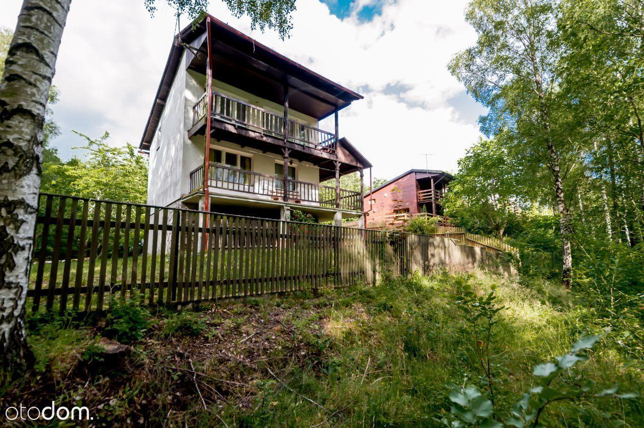 Dom z działką przy lesie na Kaszubach - Ostrzyce