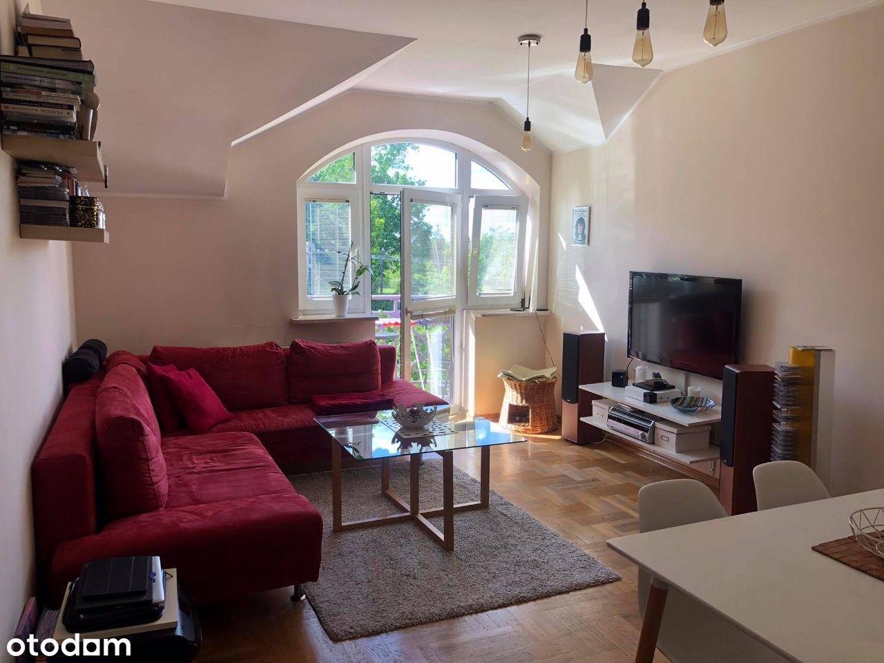 Przytulne mieszkanie 2 pokoje wyposażone 56,8m2