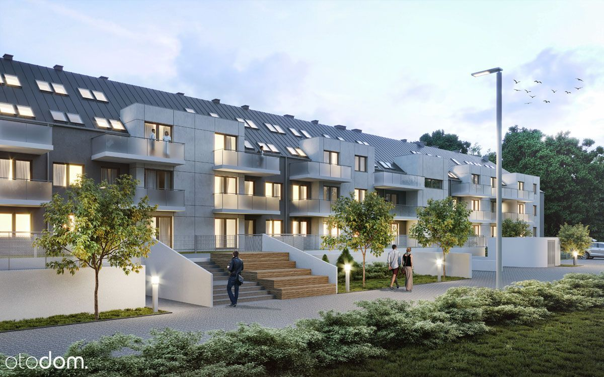 Przestronne mieszkanie z antresolą i balkonem