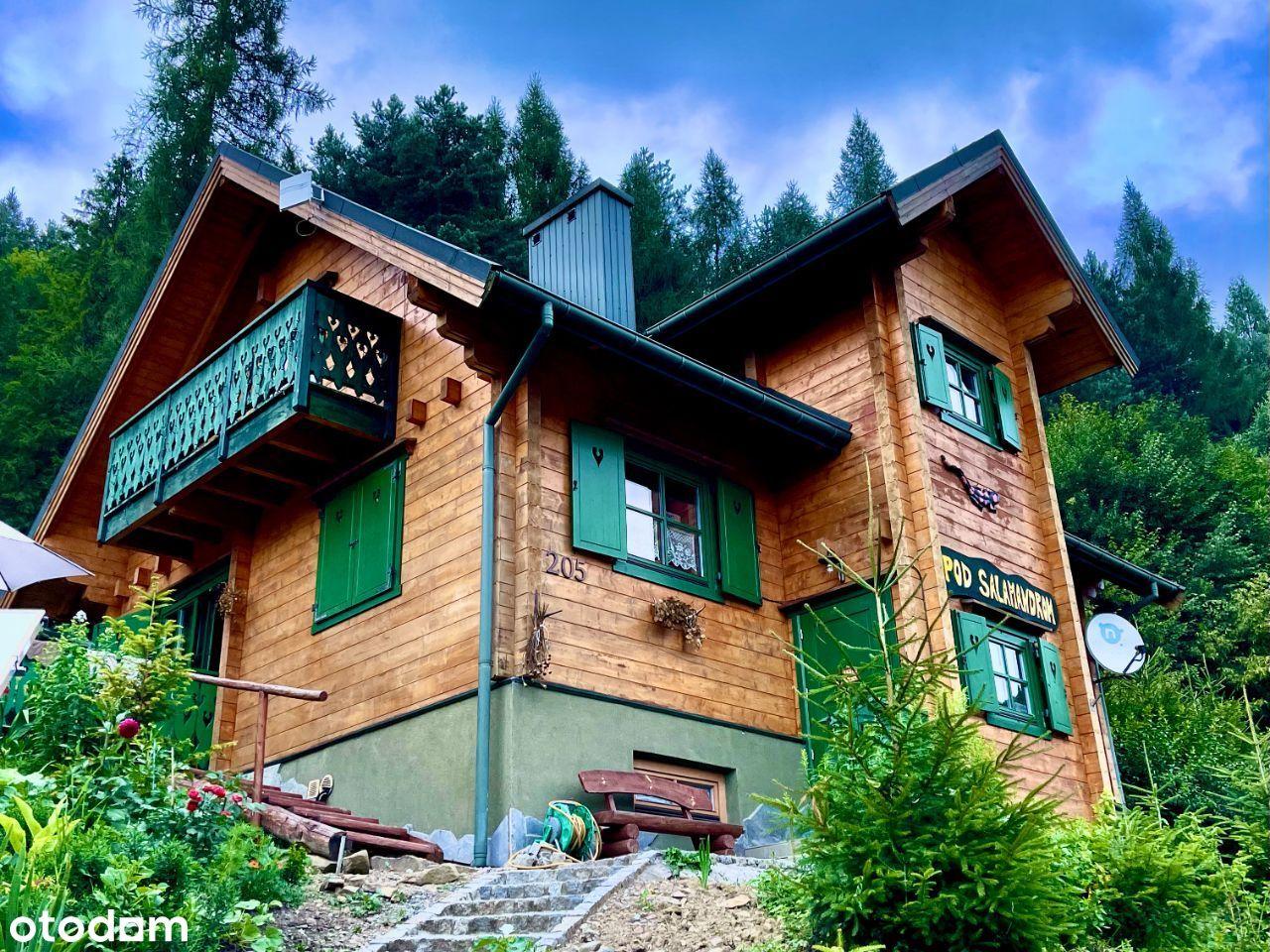 Drewniany dom - Szczawnica Jaworki