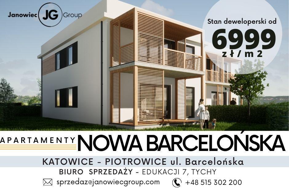 Apartament+ogród Katowice/Piotrowice - Barcelońska