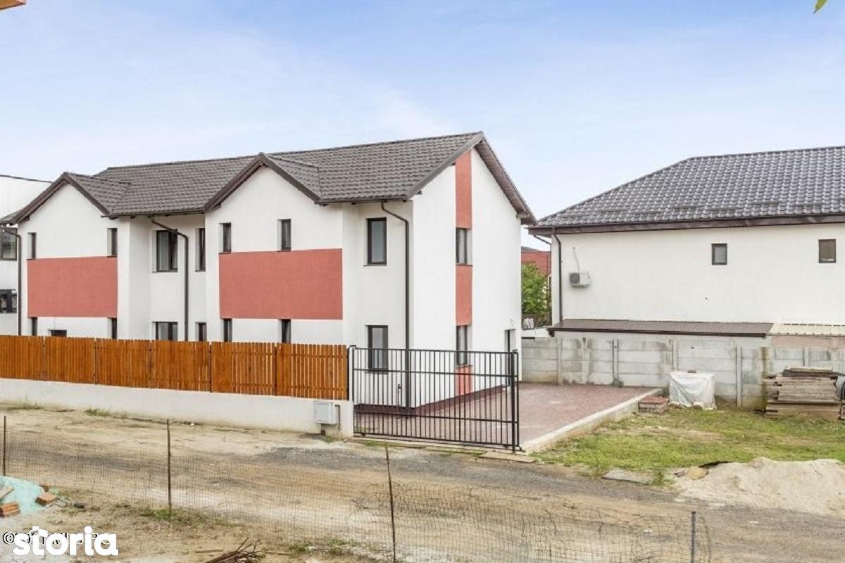 Dobroesti - Fundeni, Vila individuala detasata la alb, 180 mp, An 2020