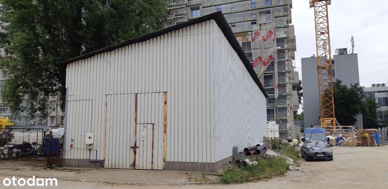 Wiata metalowa/magazyn o powierzchni zabudowy 261m