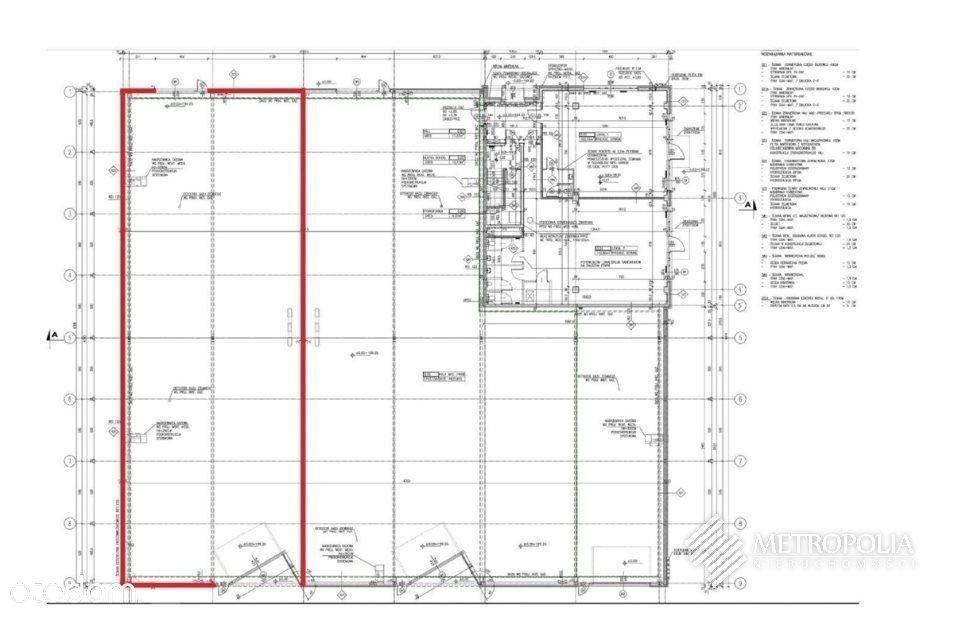 Nowoczesna kompleks hala-Rybitwy -1700m2 + biura