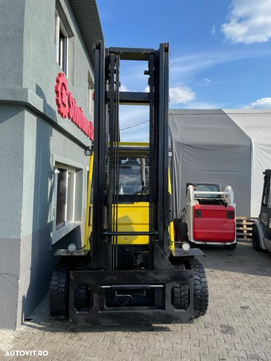 Hyster Motostivuitor Hyster H7.0FT AN 2016 DIESEL 7 tone ORE 7618 Catarg duplex - 2