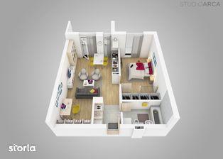 Apartament 2 camere cu dreassing si terasa in Vivalia V6 - Iulius Town