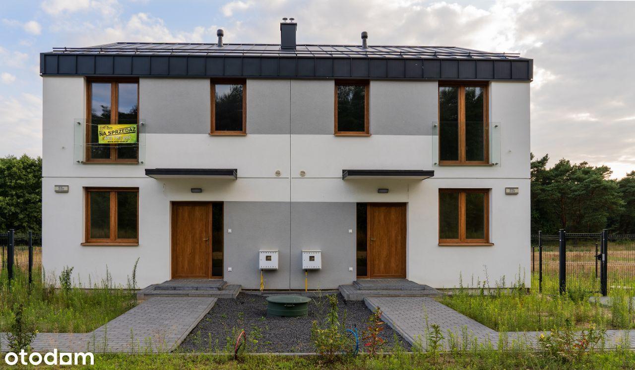 Gotowy dom p.u.107 m2 w dolinie Warty przy lesie