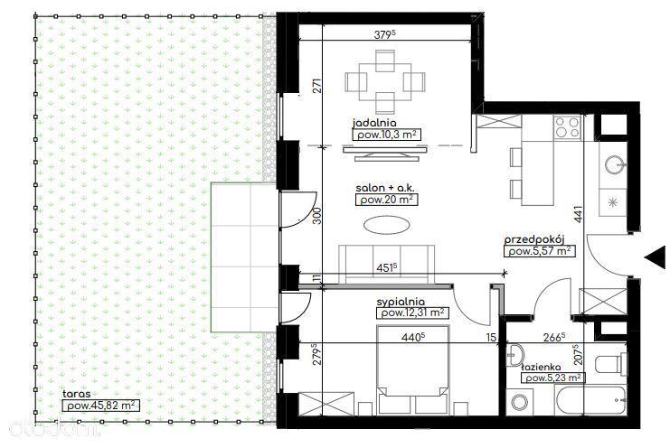 Nowe mieszkanie stan deweloperski- Eko Park