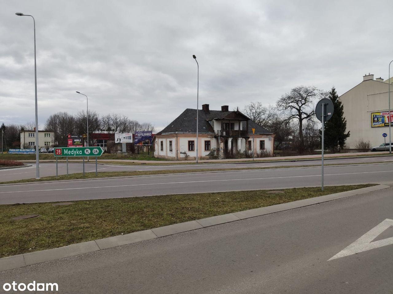 Działka 20 ar ul. Lwowska przy drodze krajowej 28