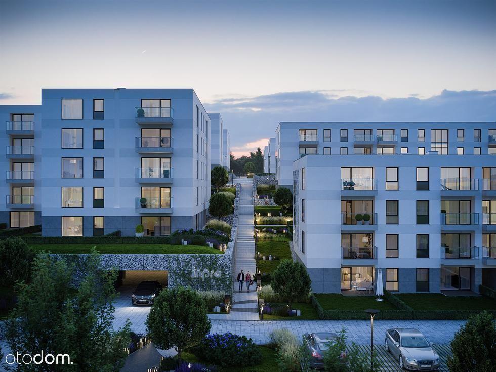 Mieszkanie-strzeżone osiedle, dwa miejsca w hali