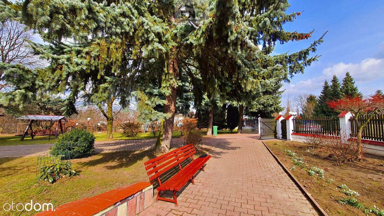 Dom z piękną działką przy trasie Lublin-Nałęczów