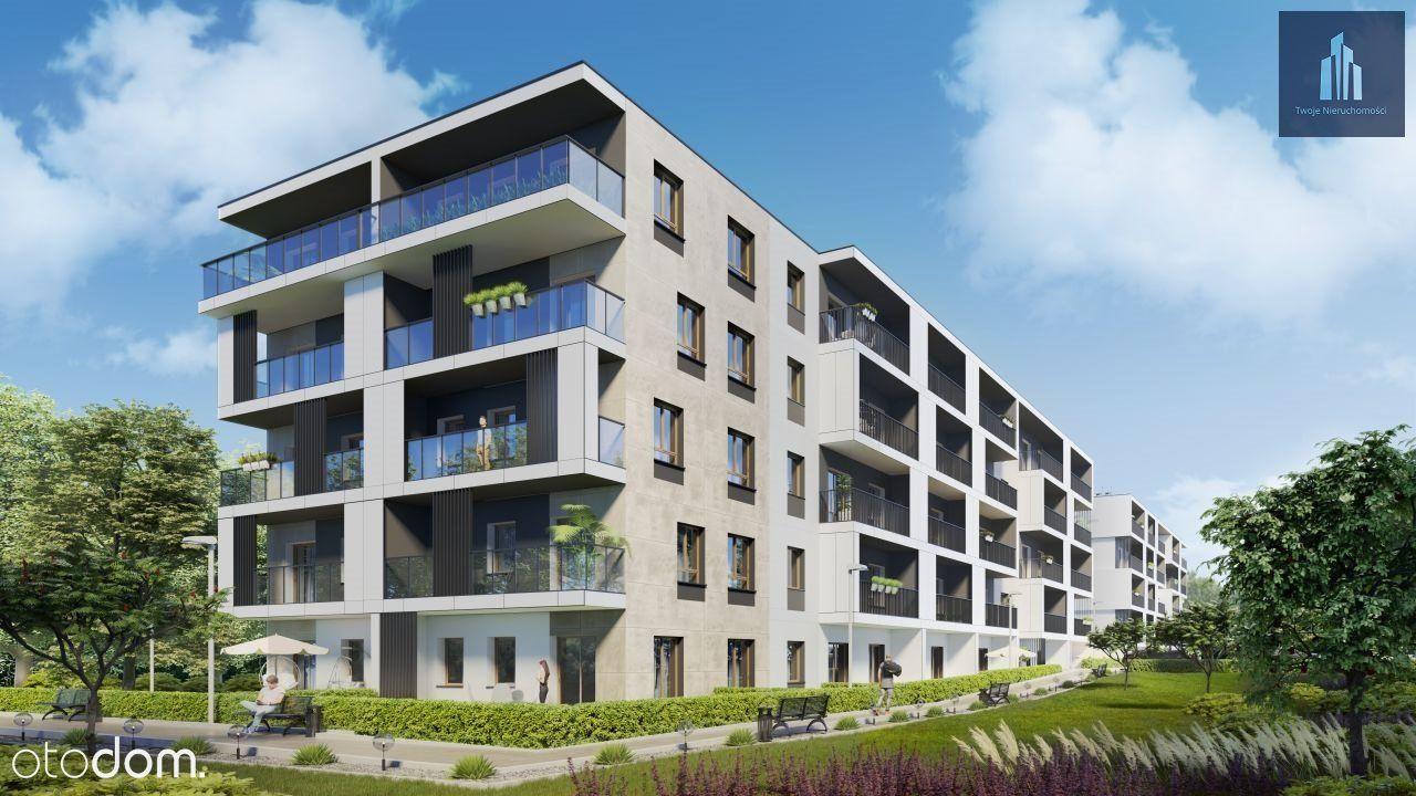 Piękne i nowoczesne mieszkanie z balkonem