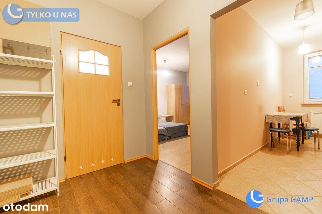 Dwa osobne pokoje z loggią na Ruczaju, 50 m2.