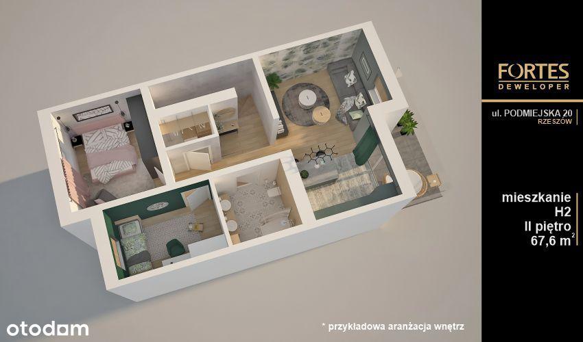 OSZCZĘDNE MIESZKANIE Podmiejska 20 - mieszkanie H2