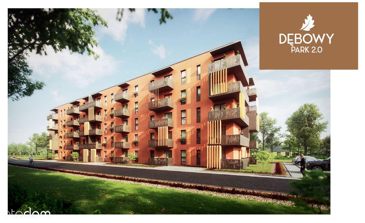 Dwupokojowe mieszkanie 35m2 Dębowy Park 2 ul.Miła